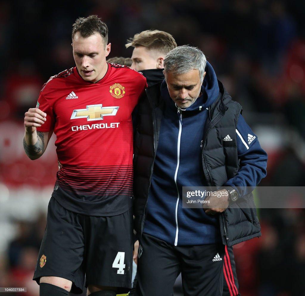 Manchester United v Derby County - Carabao Cup Third Round : Fotografía de noticias