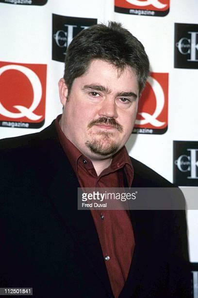 Phil Jupitus during The Q Awards 1998 at Park Lane in London, Great Britain.