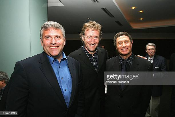 "Phil Kent, CEO Turner Broadcasting, director Brian Henson and producer Bill Haber attend the after party for the screening of TNT's ""Nightmares &..."