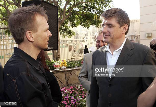 Phil Keoghan and Craig Ferguson during 3rd Annual BAFTA Tea Party Honoring Emmy Nominees at Park Hyatt Hotel in Century City California United States
