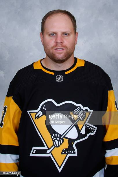 Phil Kessel poses for his official headshot for the 20182019 season on September 13 2018 at the UPMC Lemieux Sports Complex in Cranberry Township...