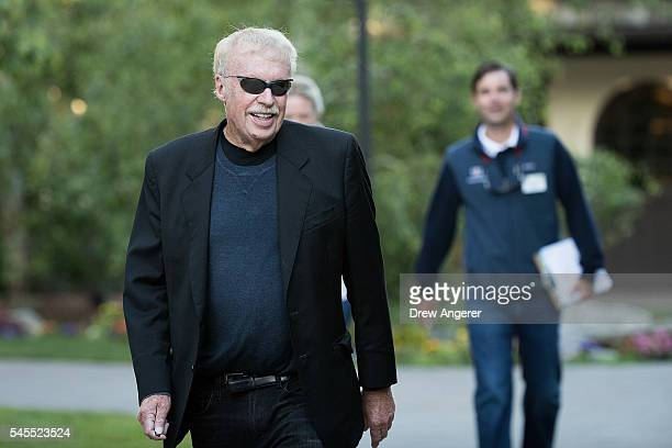 Phil Knight cofounder and chairman of Nike attends the annual Allen Company Sun Valley Conference July 8 2016 in Sun Valley Idaho Every July some of...
