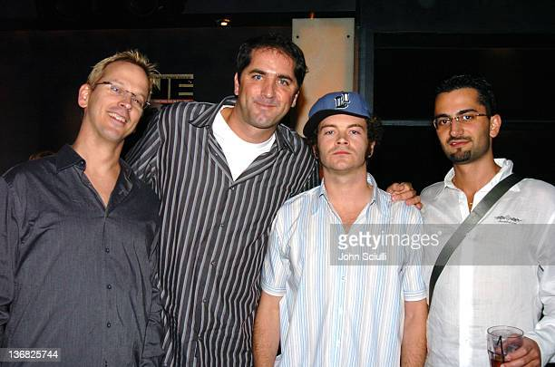 Phil Laak Phil Gordon Danny Masterson and Antonio Esfandiari