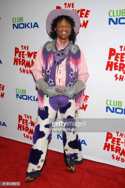 Phil LaMarr attends The Pee Wee Herman Show Opening Night at Club Nokia on January 20 2010 in Los Angeles California