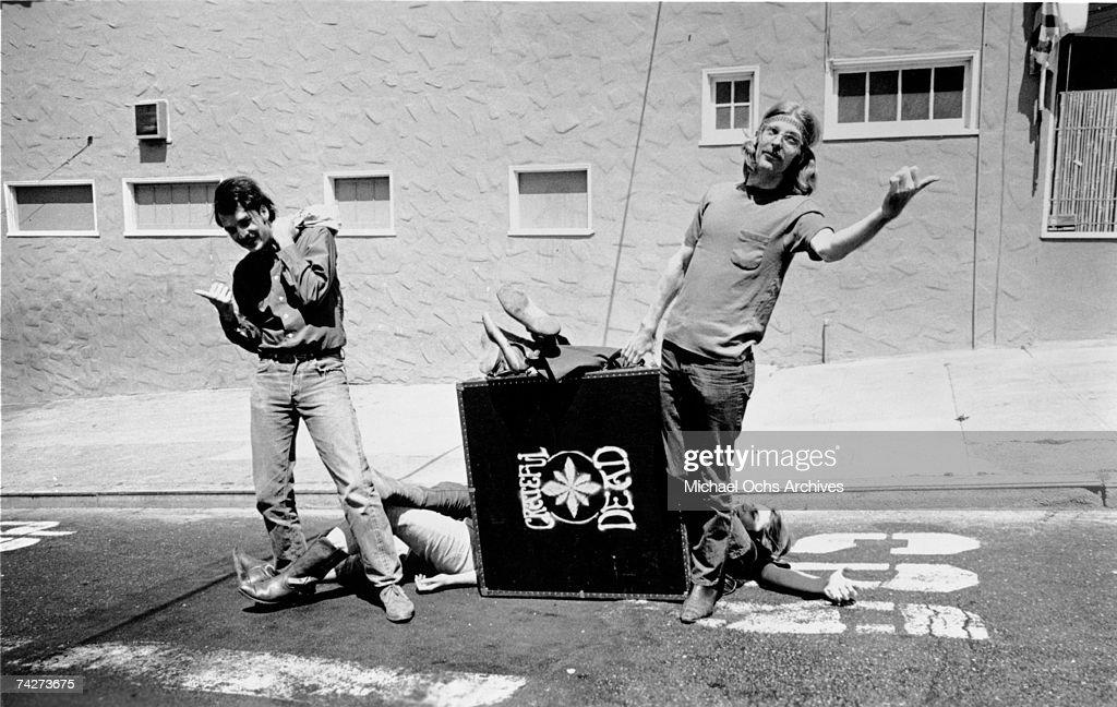 Grateful Dead Portrait : News Photo