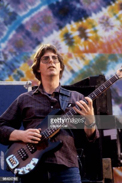 Phil Lesh performing with the Grateful Dead at the Greek Theater in Berkeley on May 22 1982 He plays a GL L2000 bass guitar