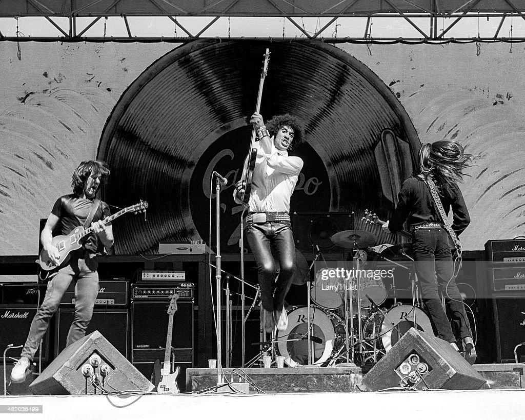 Thin Lizzy Live : News Photo