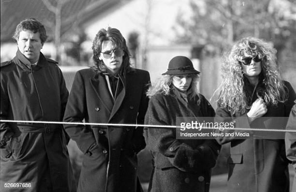 Phil Lynott's Funeral