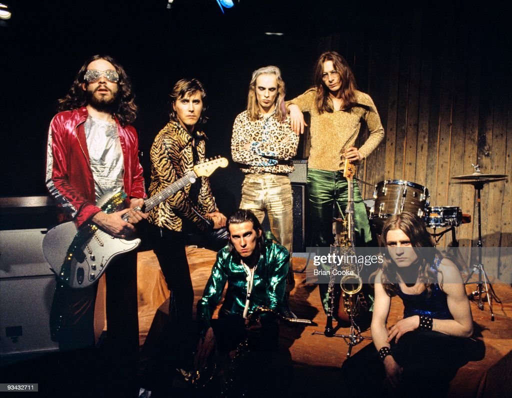 Roxy Music At Royal College Of Art In London 1972 : Photo d'actualité
