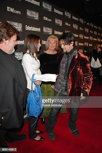 Phil Margera Missy Rothstein April Margera and Bam Margera attend Entertainment Weekly annual Academy Awards viewing party at Elaine's NYC on...