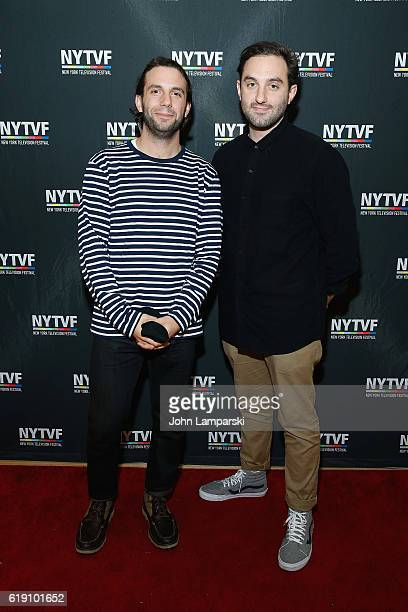 Phil Matarese and Mike Luciano of Animals attend Development Day Panels during the 12th Annual New York Television Festival at Helen Mills Theater on...