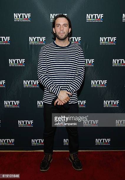 Phil Matarese of Animals attends Development Day Panels at the 12th Annual New York Television Festival at Helen Mills Theater on October 29 2016 in...