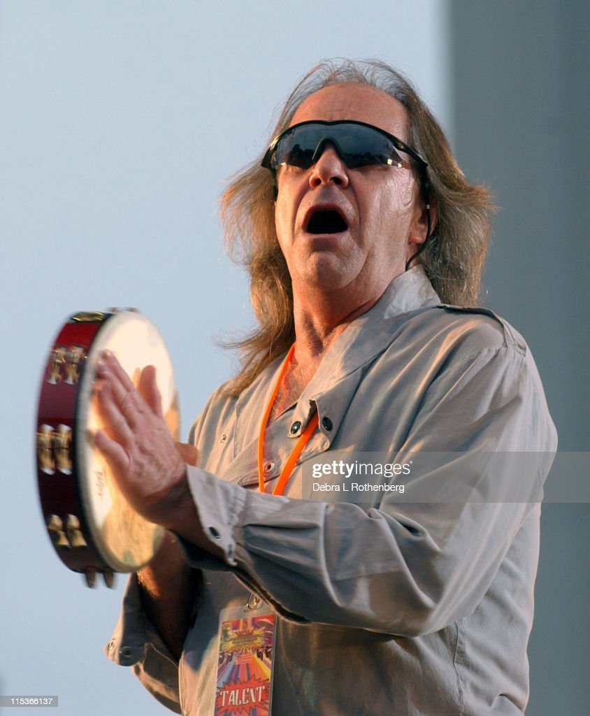 Phil May of the Pretty Things during Little Steven's Underground Garage Festival Presented by Dunkin' Donuts - Show - August 14, 2004 at Randall's Island in New York City, New York, United States.