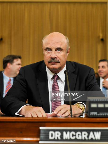 Phil McGraw attends the Caring For Our Kids Are We Overmedicating Children in Foster Care hearing on May 29 2014 in Washington DC