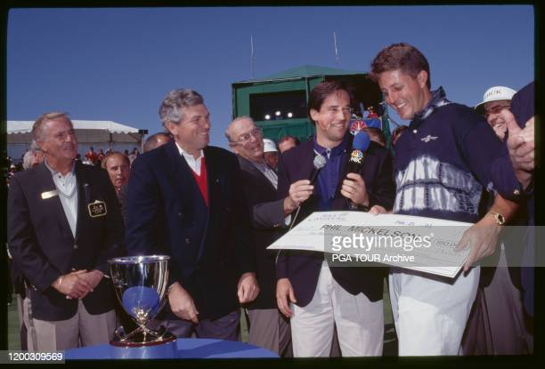Phil Mickelson 1993 Buick Invitational - February Photo by Marty Jenkins/PGA TOUR Archive via Getty Images