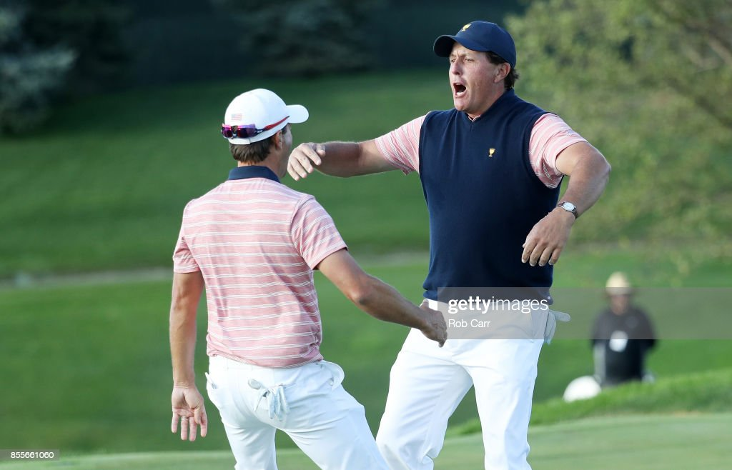 The Presidents Cup - Round Two : News Photo
