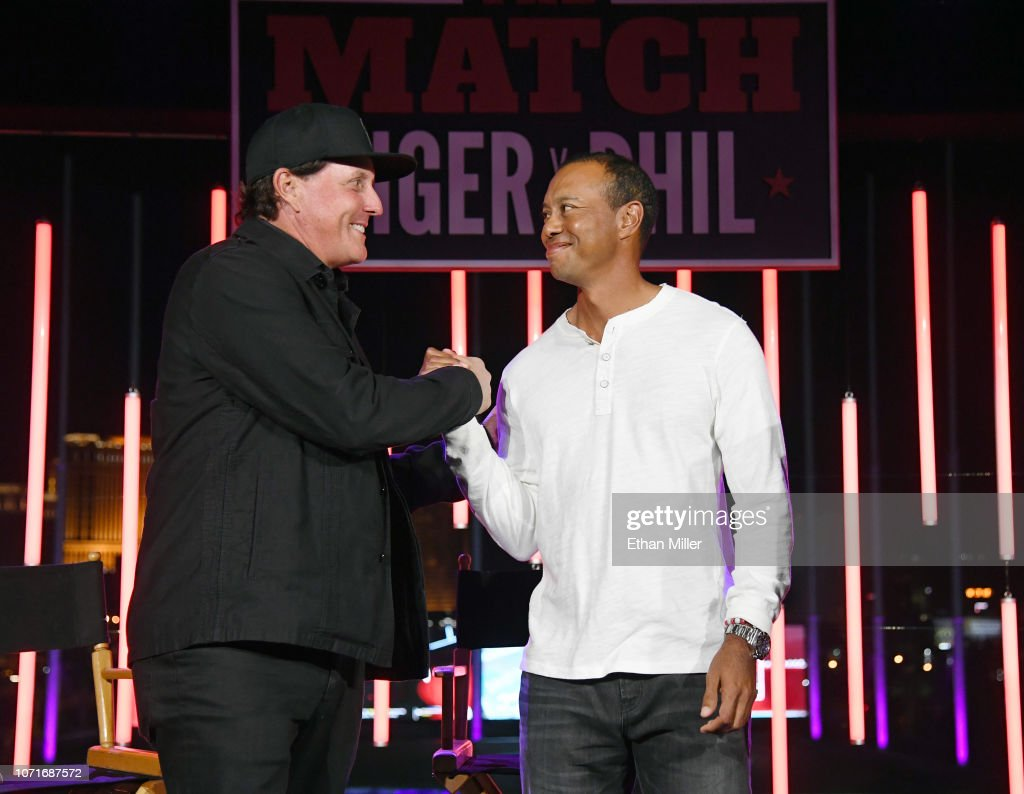 The Match: Tiger vs Phil - VIP After Party : News Photo
