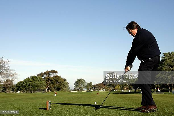 Phil Mickelson during ProAm day at the Buick Invitational held at the Torrey Pines Golf Course in Torrey Pines CA