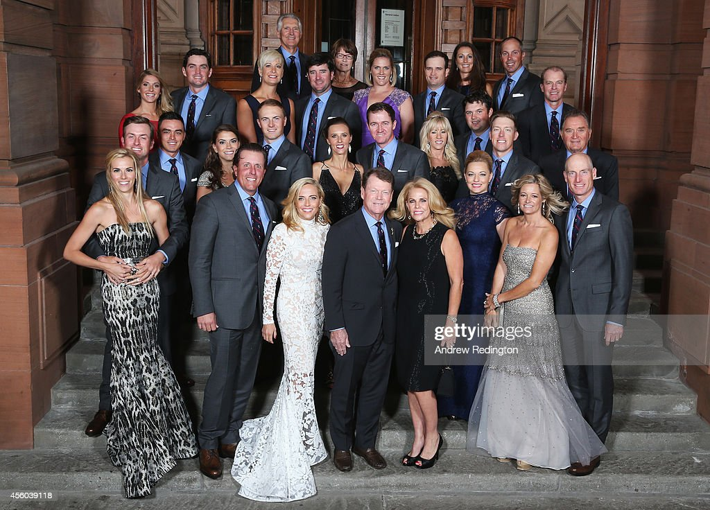 Ryder Cup Teams Gala Dinner - 2014 Ryder Cup : News Photo