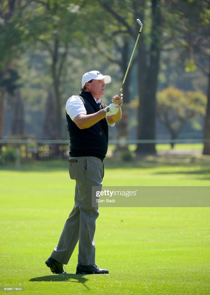 World Golf Championships-Mexico Championship - Preview Day 3 : News Photo