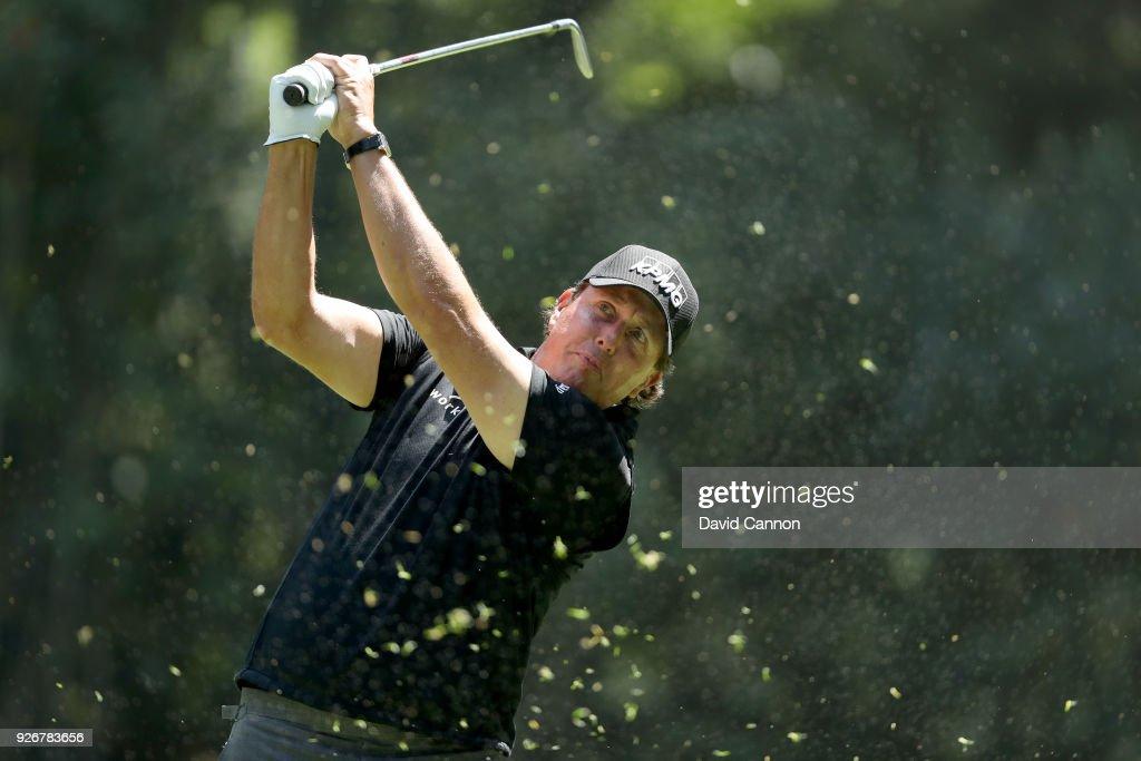 World Golf Championships-Mexico Championship - Round Three : Nachrichtenfoto