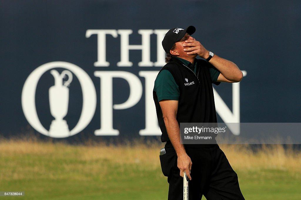 145th Open Championship - Day One : Nachrichtenfoto