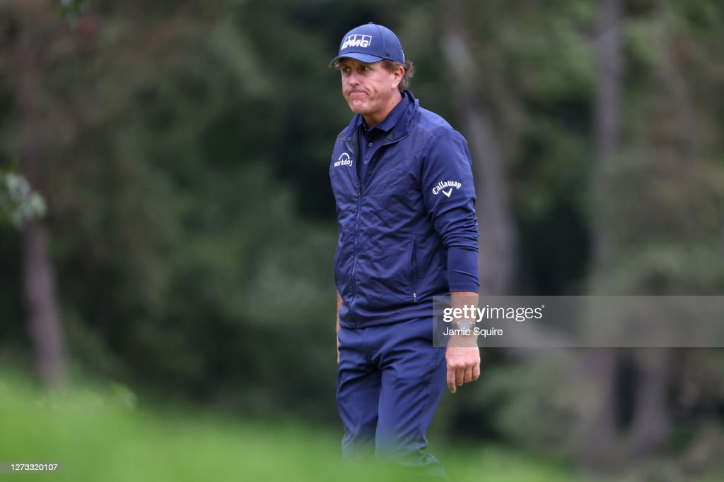 Phil Mickelson at the 2020 U.S. Open - Round Two © Getty Images
