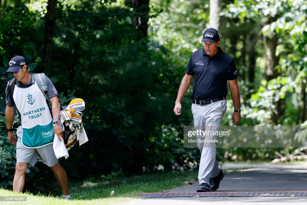 GOLF: AUG 21 PGA - The Northern Trust : ニュース写真