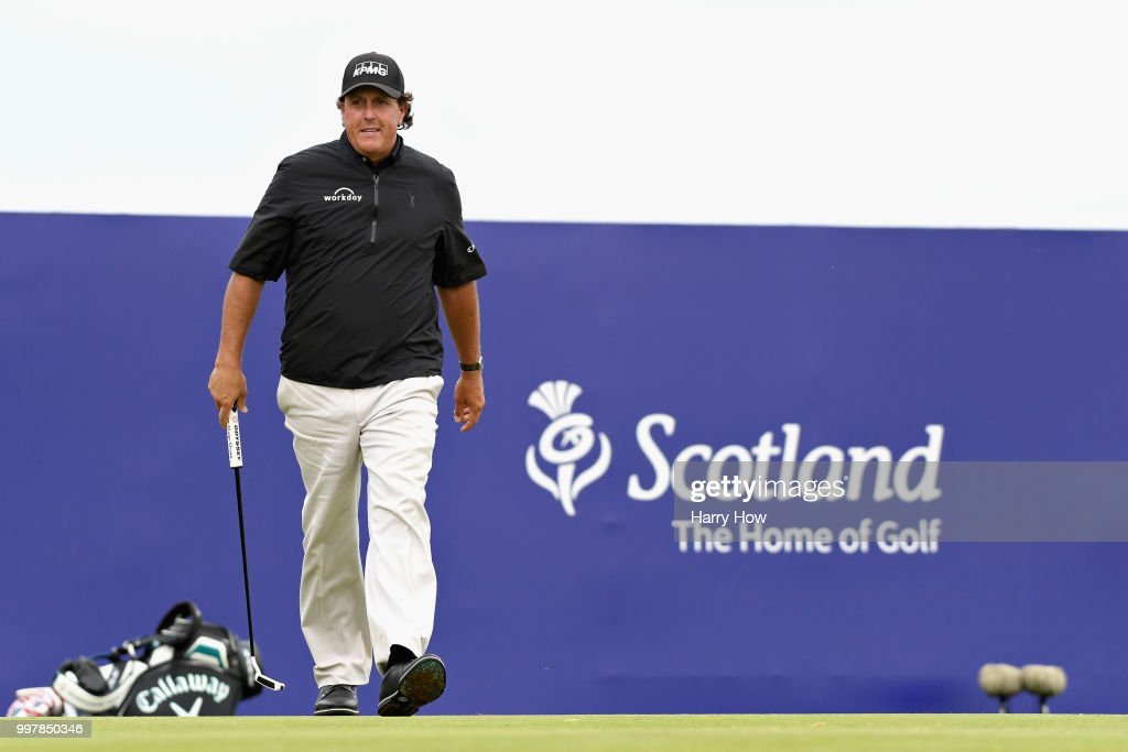 Aberdeen Standard Investments Scottish Open - Day Two : News Photo