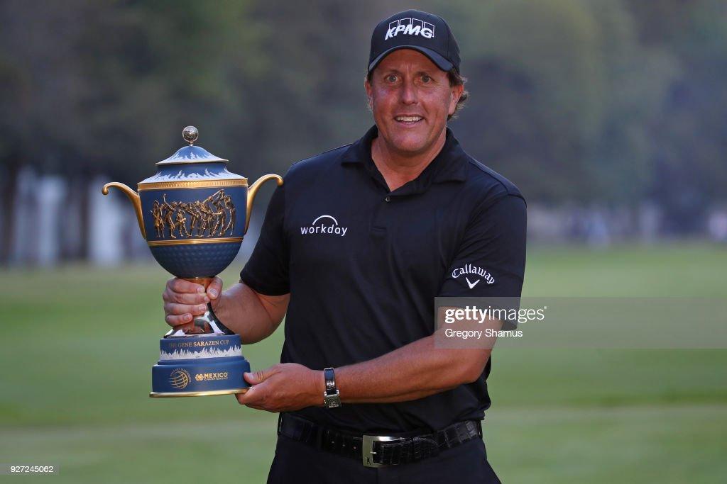 World Golf Championships-Mexico Championship - Final Round : Nachrichtenfoto
