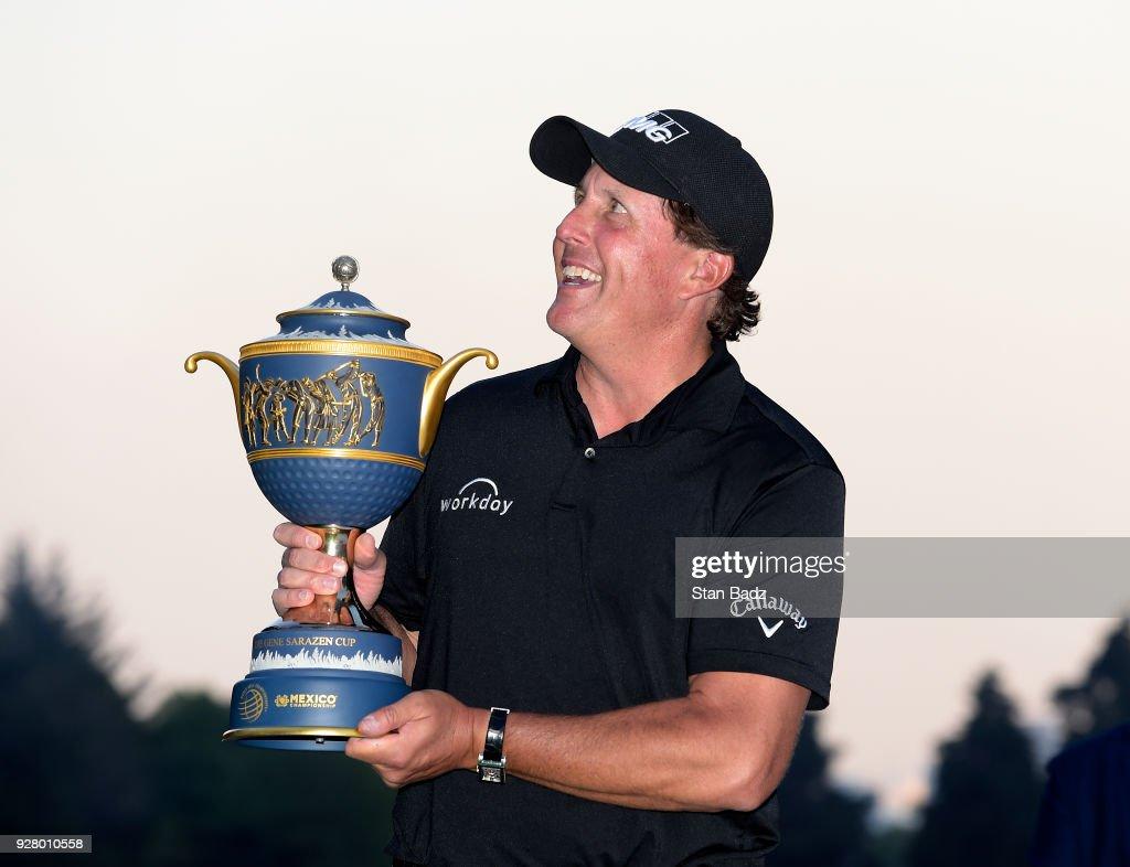 World Golf Championships-Mexico Championship - Final Round : News Photo