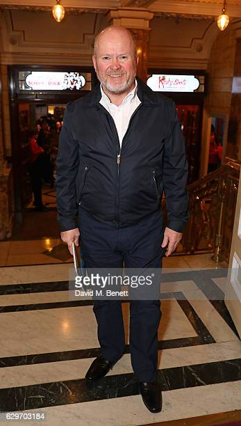 Phil Mitchell attends the Opening Night performance of 'Cinderella' at London Palladium on December 14 2016 in London England