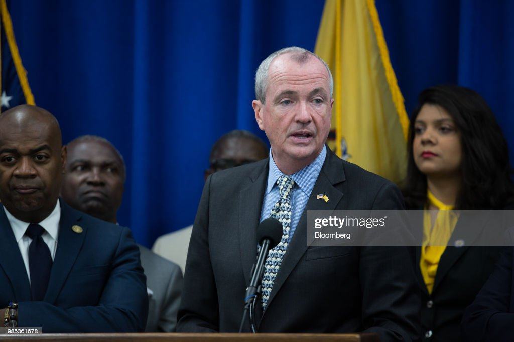 New Jersey Governor Murphy Holds Budget Press Conference