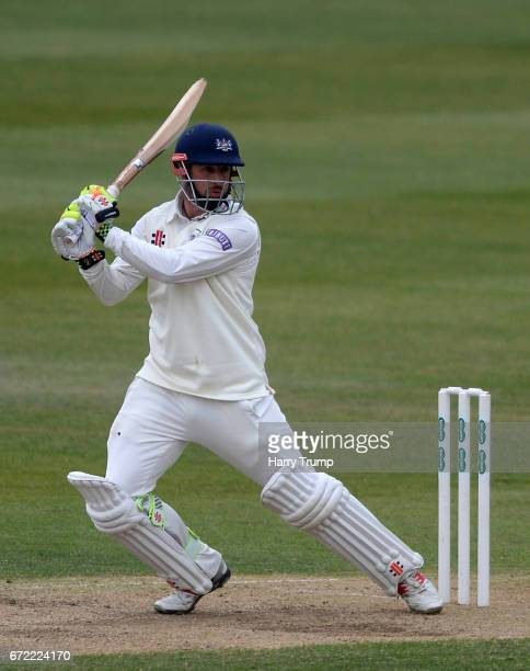 Phil Mustard of Gloucestershire bats during the Specsavers County Championship Division Two match between Gloucestershire and Durham at The...