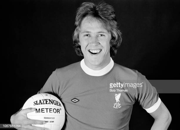 Phil Neal of Liverpool during a photoshoot, circa May 1975.