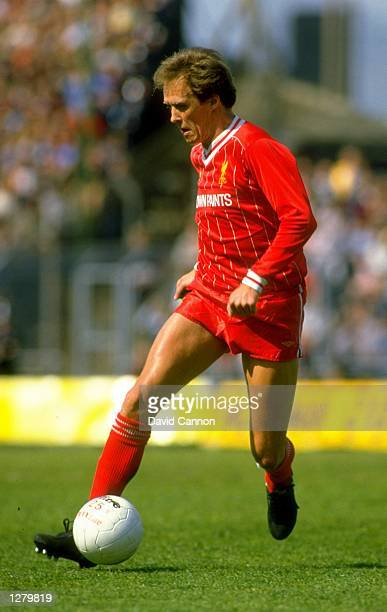 Phil Neal of Liverpool in action during a match Mandatory Credit David Cannon/Allsport