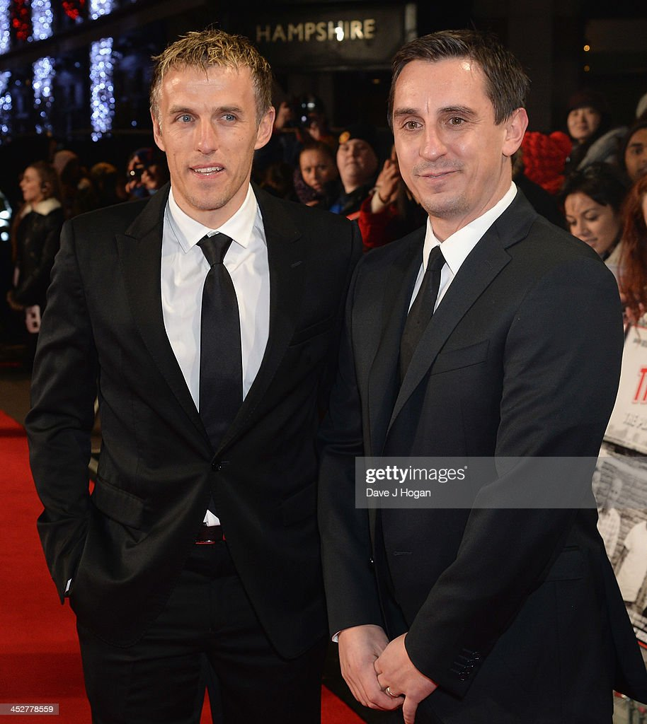 """The Class Of 92"" - World Premiere - Inside Arrivals : News Photo"