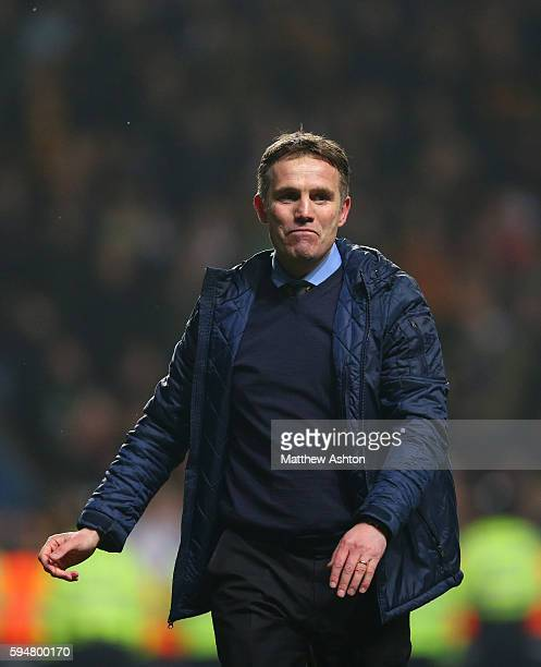 Phil Parkinson the manager / head coach of Bradford City