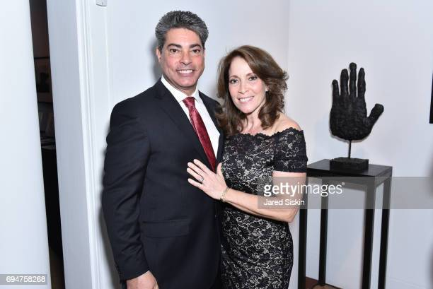 Phil Ragno and Kathy Ragno attend the 21st Annual Hamptons Heart Ball at Southampton Arts Center on June 10 2017 in Southampton New York
