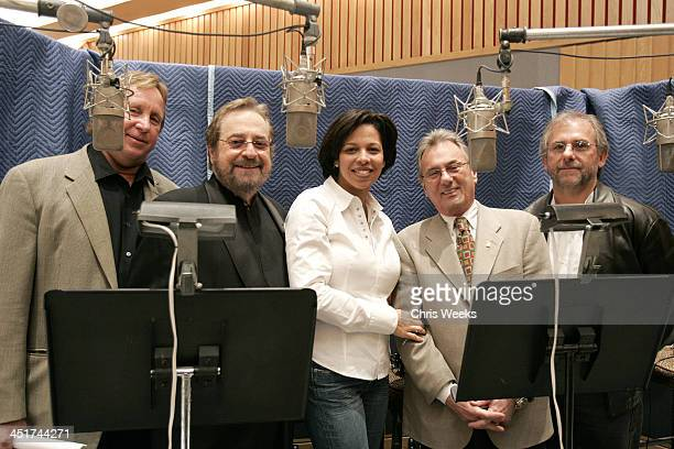 Phil Ramone Angelia BibbsSanders and Al Schmidt during GRAMMY Cultural Policy Initiative Advocacy Panel at Capitol Records at Capitol Records in...