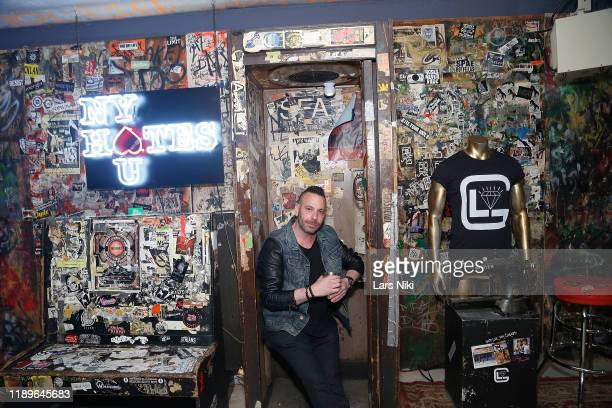 Phil Reese attends the private opening of the Good Luck Dry Cleaners Bowery location at 3 East 3rd on December 19 2019 in New York City