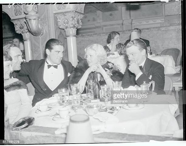 Phil Regan Alice Faye And James Cagney At The Ambassador Hotel