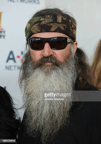 Phil Robertson attends the AE Networks 2013 Upfront at Lincoln Center on May 8 2013 in New York City