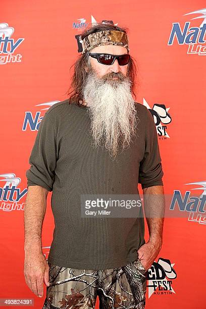Phil Robertson of Duck Dynasty appears during RedFest at the Austin360 Amphitheater on May 25 2014 in Austin Texas