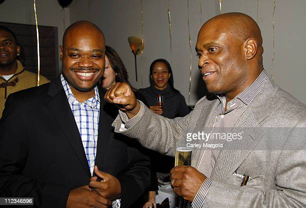 Phil Robinson, chief of staff for Island Def Jam Group and LA Reid, chairman of Island Def Jam Group