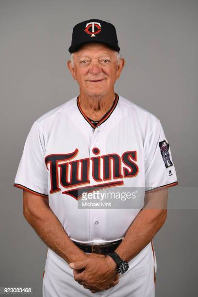 Phil Roof of the Minnesota Twins poses during Photo Day on Wednesday February 21 2018 at CenturyLink Sports Complex in Fort Myers Florida