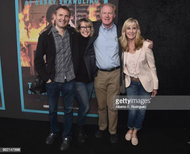 Phil Rosenthal Monica Horan Ed Begley Jr and Rachelle Carson attend the Screening Of HBO's The Zen Diaries Of Garry Shandling at Avalon on March 14...
