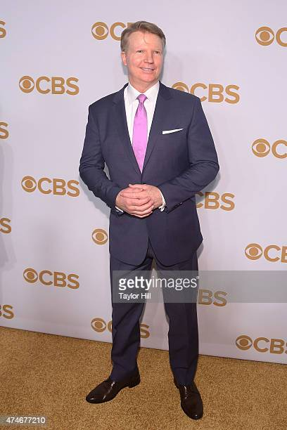 Phil Simms attends the 2015 CBS Upfront at The Tent at Lincoln Center on May 13 2015 in New York City