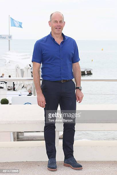 Phil Spencer attends 'Love It Or List It UK Photocall as part of MIPCOM 2015 on La Croisette on October 5 2015 in Cannes France