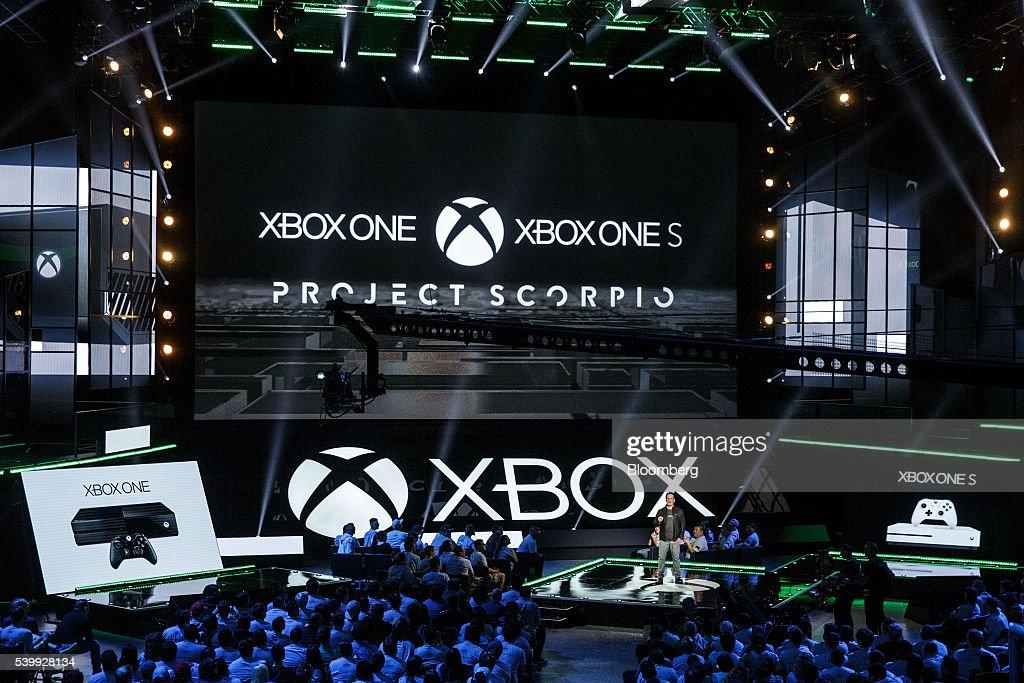Inside The 2016 E3 Electronic Entertainment Expo : News Photo